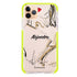 Fashion Model iPhone 11 Pro Max Frosted Bumper Case